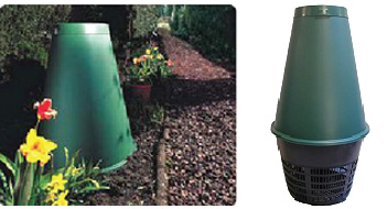 Photo of green cone digester